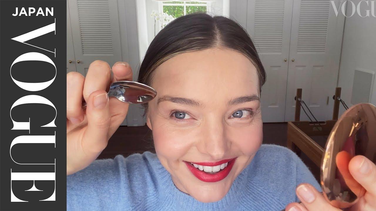 ミランダ・カー流、デートに使える勝負メイク。| My Beauty Tips | VOGUE JAPAN