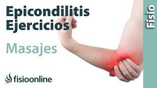 Epicondilitis o codo de tenista - Tratamiento con ejercicios...