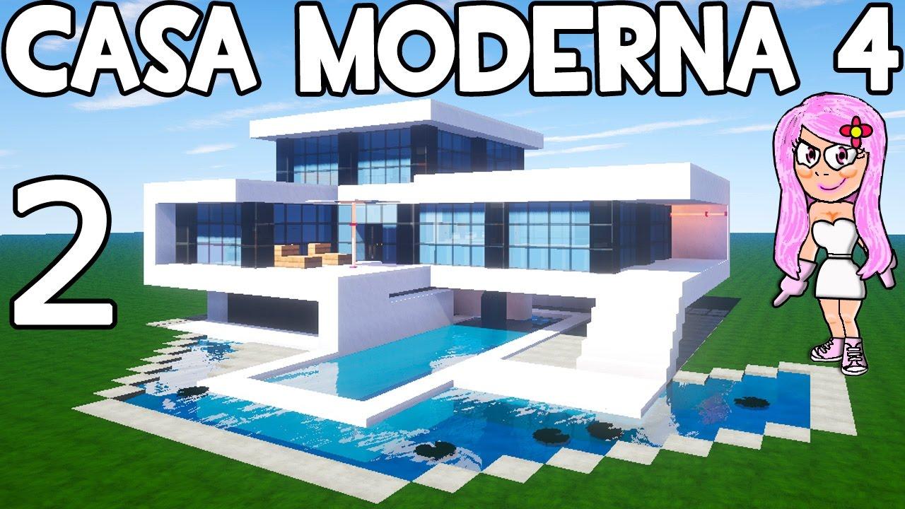 casa moderna 4 en minecraft parte 2 c mo hacer y