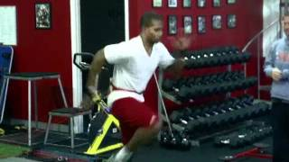 Victor Cruz - New York Giants - NFL Pro Day Training