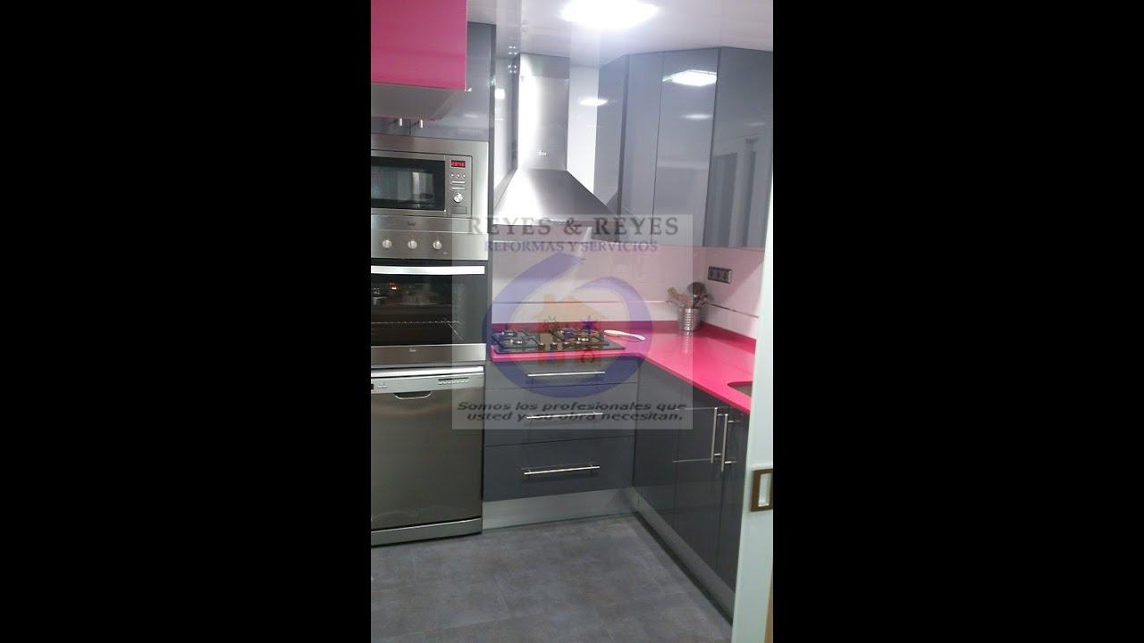 Reforma barata de cocina peque a en barcelona - Reformar cocina pequena ...