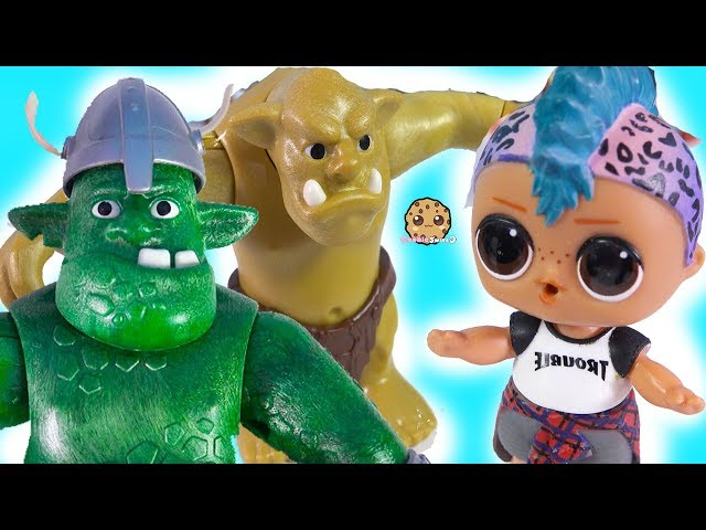 King Trolls Adventure Sets