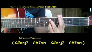 Robin Thicke When You Love Somebody Guitar chords Tutorial