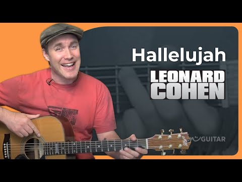 Hallelujah – Leonard Cohen – Easy Acoustic Beginner Guitar Lesson (BS-801) How To Play