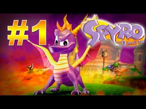 Прохождение Spyro the Dragon (PS) #1 - Мир мастеров, Каменные холмы