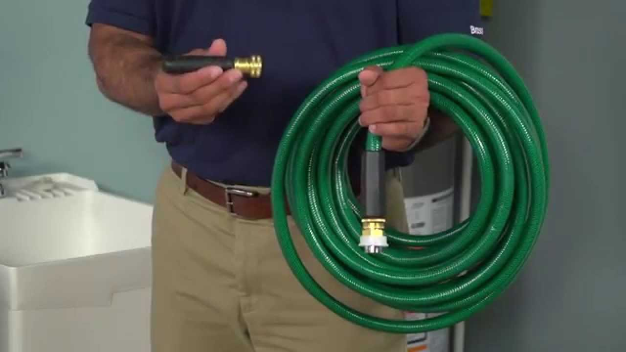 How to Use a BrassCraft Drain Cleaning Bladder : water blaster hose - www.happyfamilyinstitute.com