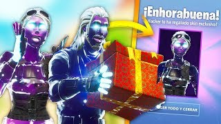 HACKER GIVES ME THIS SKIN HACKED BY WINLE in 1V1 at FORTNITE!.. 🔥😱