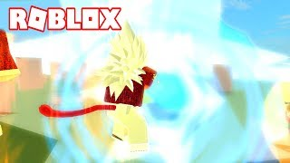 TRANSFORMATION IN SSJ4 AND COMBATES!!! - ROBLOX DRAGON BALL HOPE