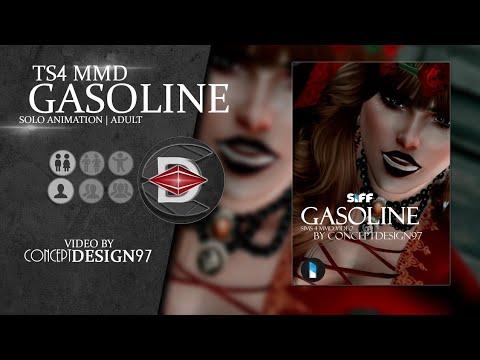 "The sims 4 - MMD Music : ""Gasoline"" ft. Shilo (SIFF Season 16) w/lyrics"
