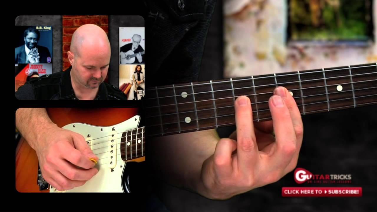 Free guitar lick video