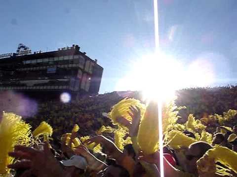 """""""You Suck"""" Chant At The Big House"""
