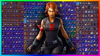 Black Widow All Backblings Showcase