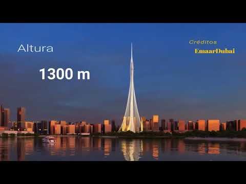 Avance construcción Del Rascacielos Mas Alto Del MUNDO Dubai Creek Tower 1300 m