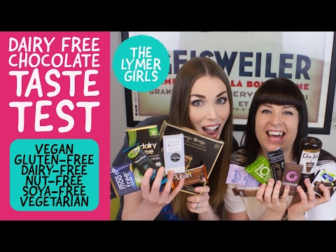 VEGAN CHOCOLATE TASTE TEST