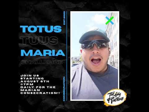"Virtual Marian Consecration ""Totus Tuus Maria"" Challenge"