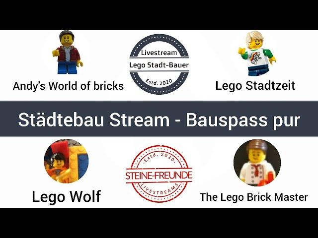 Städtebau Stream XXL - Bauspass pur