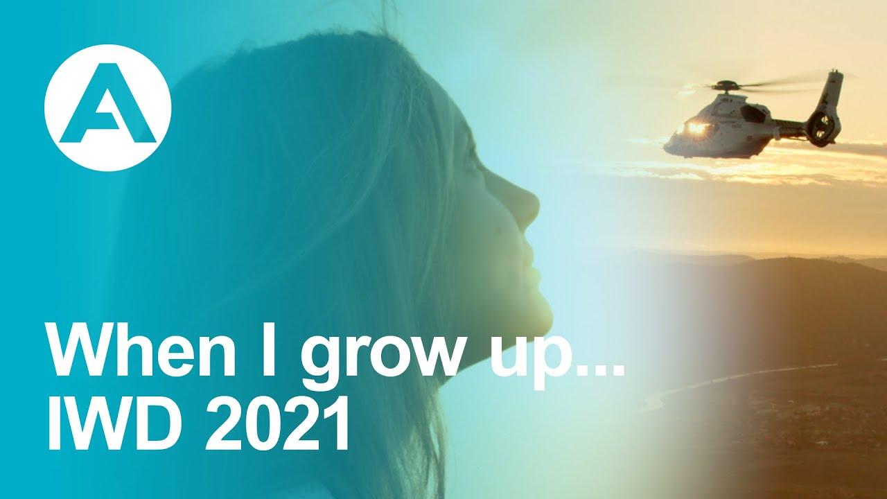 When I grow up... - IWD 2021