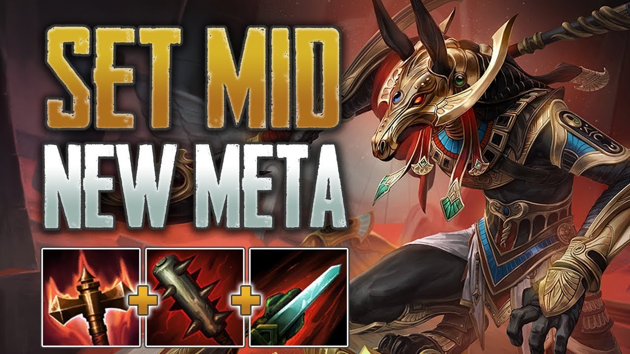 Fragging Too Hard! Set Mid Gameplay (SMITE Conquest)