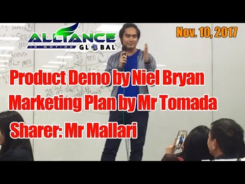 Product Demo/MarketingPlan/Sharing Success Story Nov. 10, 2017
