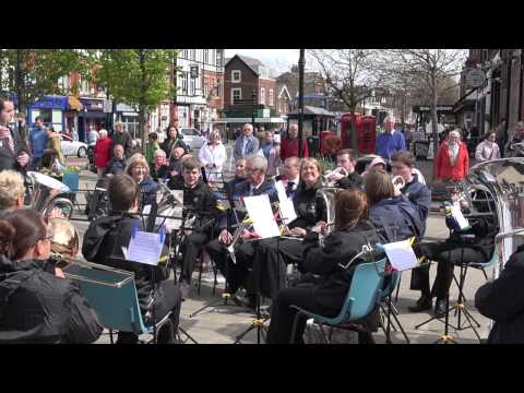 Hebden Bridge Brass Band - Abide with me - Lytham Square