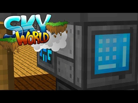 Refined Storage System! Hühnerzucht! Legendary Lootbags! - Minecraft SKY WORLD #05