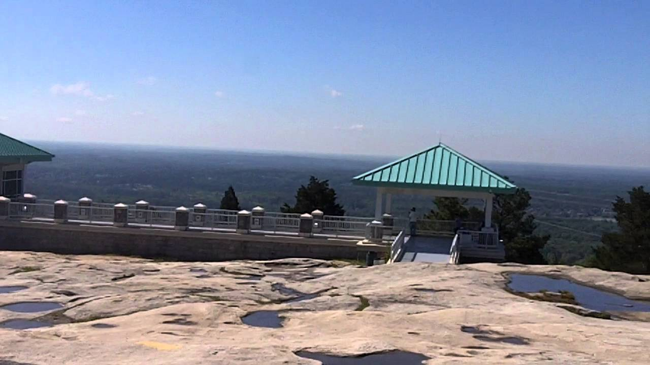 View From The Top Of Stone Mountain Georgia In Hd Youtube