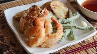 Tempura Recipe - Japanese Cooking 101