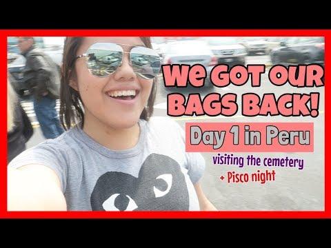 Lost Luggage, Cemetery Visit, and Peru Nights | PERU VLOG