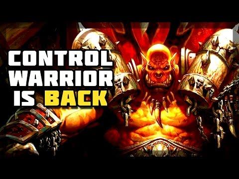 Hearthstone - Control Warrior is Back