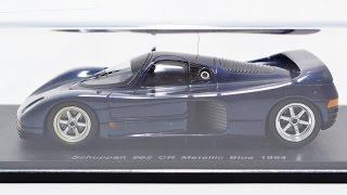 Spark 1/43 Schuppan Porsche 962 Cr Metallic Blue (kbs035)  60717