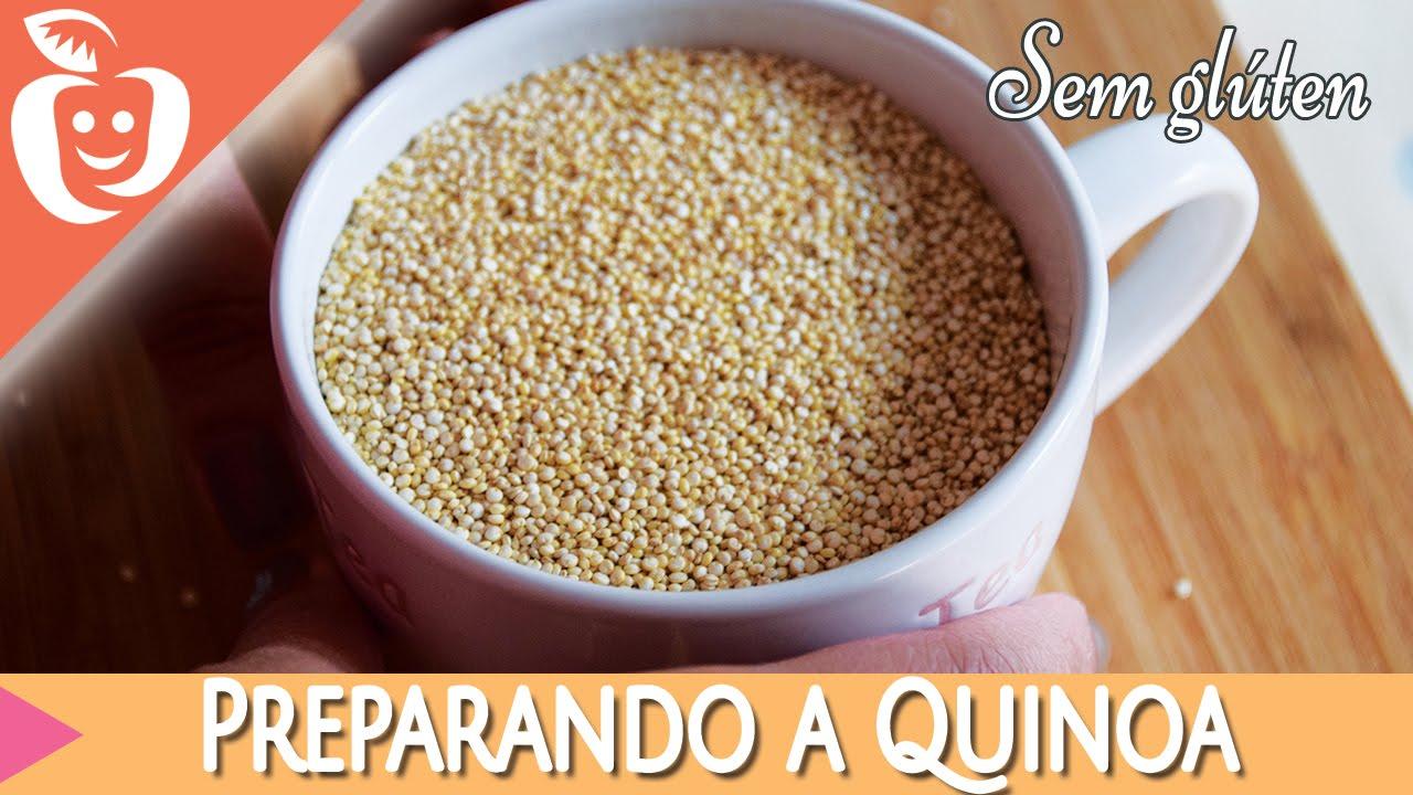 Como preparar a quinoa emagrecer certo youtube for Como cocinar quinoa