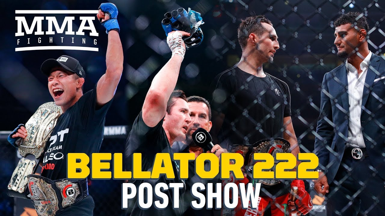 Bellator 222 Post-Fight Show - MMA Fighting