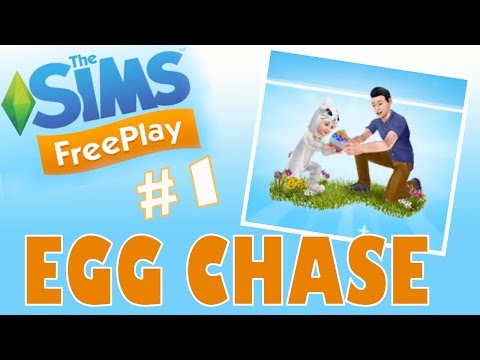 Sims Freeplay - Chocolate Egg Chase - Easter Update - 동영상