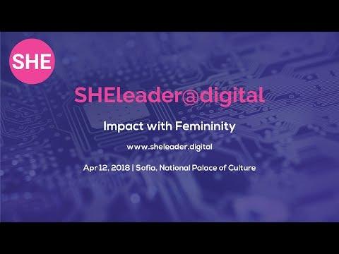 SHE leader@digital Conference | April 12, Sofia | NDK