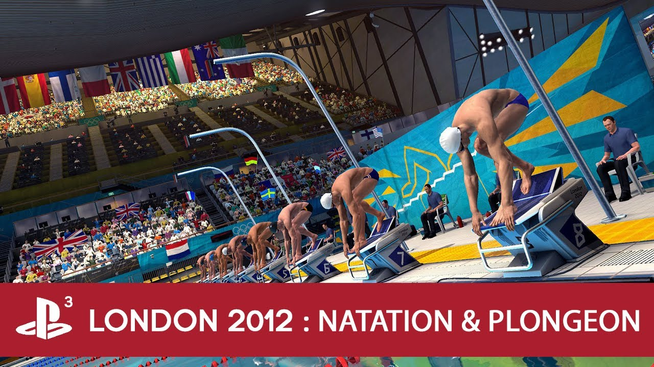 London 2012 Jeux Olympique  2 Gamepaly Natation et Plongeon  YouTube