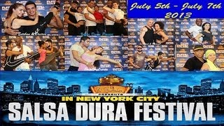 Ismael & Melanie, Victor & Maria, Edwin Rivera | NY Salsa Dura Festival 2013 | Performance Medley