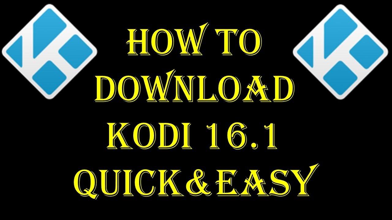 Kodi 16 Download Pc