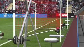 Asamoah Gyan esse negro maravilhoso marcando um gol de placa -Los Marvados