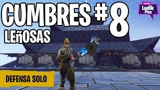 DEFENSE ESCUDO CUMBRES 8 ONLY ? FORTNITE SAVE THE WORLD Spanish Gameplay