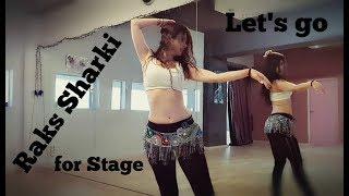 "Let's be Elegant - Oriental Tutorial ""Raks Sharki"" Dance - Choreography   Lia Verra"