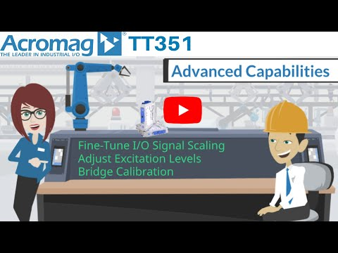 Acromag TT351 Strain Gauge Input Four-Wire Transmitter