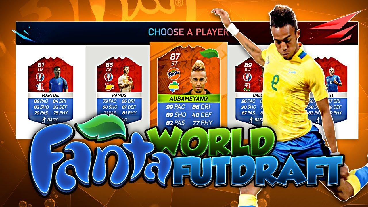 baa639909 OMG FANTA AUBAMAYENG WORLD FUT DRAFT CHALLENGE! FIFA 16 ULTIMATE TEAM -  YouTube
