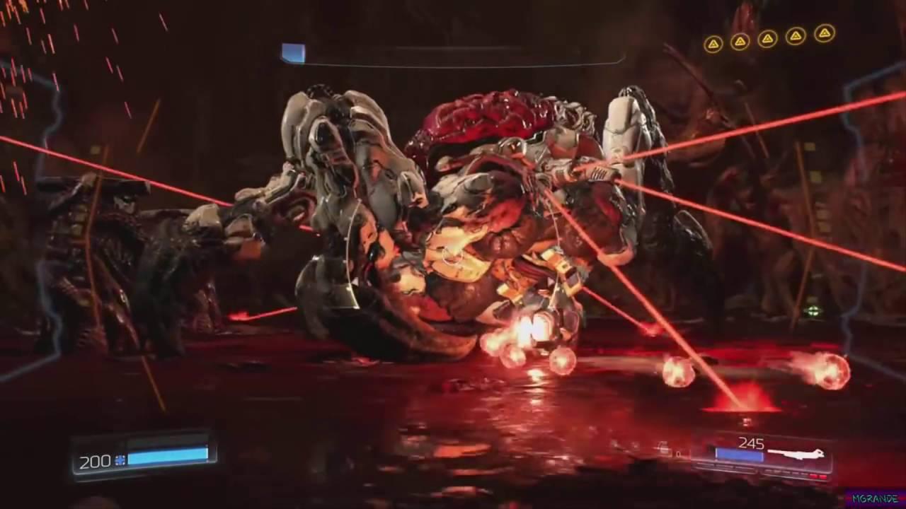 DOOM 2016 - Final Boss fight & Ending Scene | 1080p