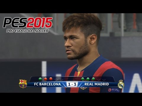 Penalty Shootout Barcelona Vs Real Madrid PES 2015