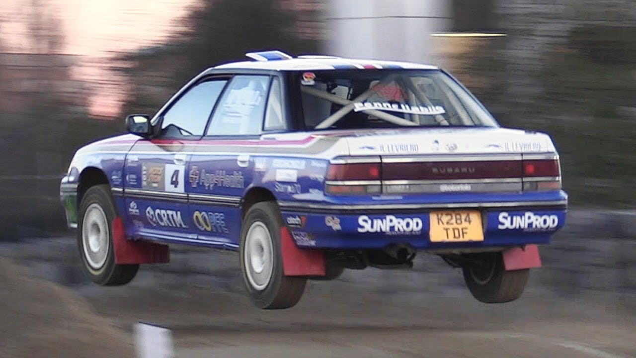 Onboard A Subaru Legacy Rs Rally With Toto Riolo At Motor Show