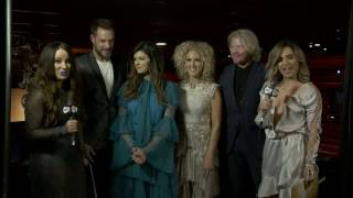 Little Big Town - Backstage at the CMC Music Awards 2017 Video
