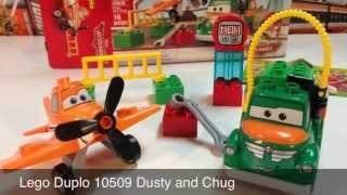 Lego Duplo Disney Planes 10509 Dusty And Chug Preschool Playset
