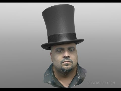 Mike's Avatar - Experiment with Autodesk 123D Catch & MODO