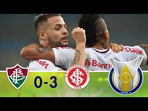 Melhores Momentos - Fluminense 0 x 3 Internacional - Campeonato Brasileiro (13/08/2018)