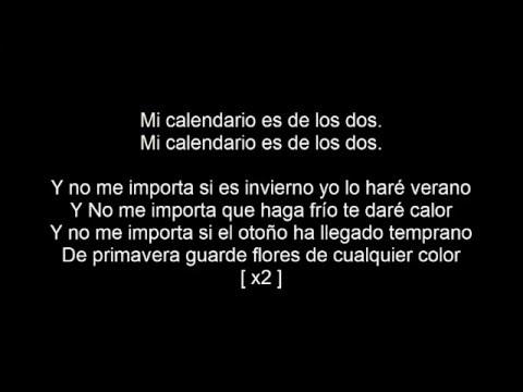 Ezio Oliva - Calendario [ Letra ]